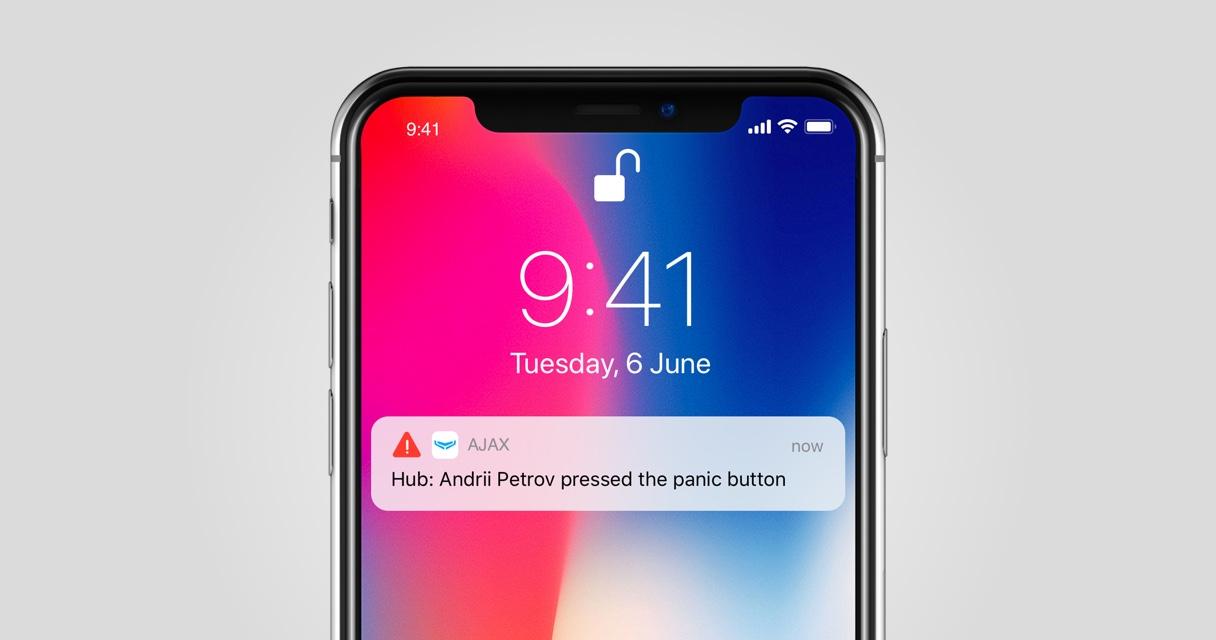 Configuració Iphone Alarma Ajax | Serveis Telemàtics Palamós